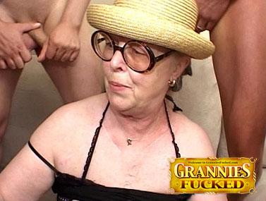 Great granny gangbang 2
